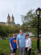 Enjoying NY Central Park with Grandma