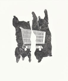 Bears with Shopping Cart