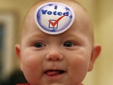 """""""I voted."""""""