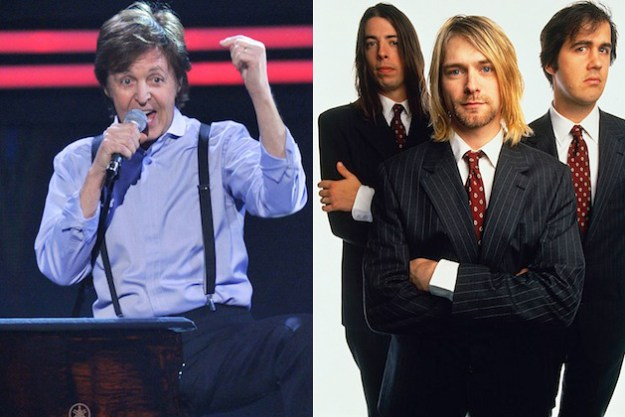 "The new Nirvana/Beatles supergroup has only just begun! This historic collaboration is still ""in utero."""