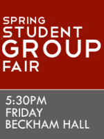 Student Group Fair - Spring