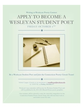 Poetry Contest Flyer