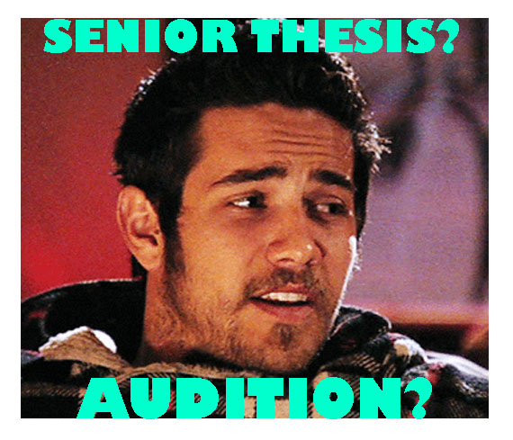 senior thesis film What are some good high school senior thesis topic ideas a:  finding the best high school senior project idea involves finding something that the student is.