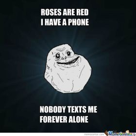 poetry forever alone