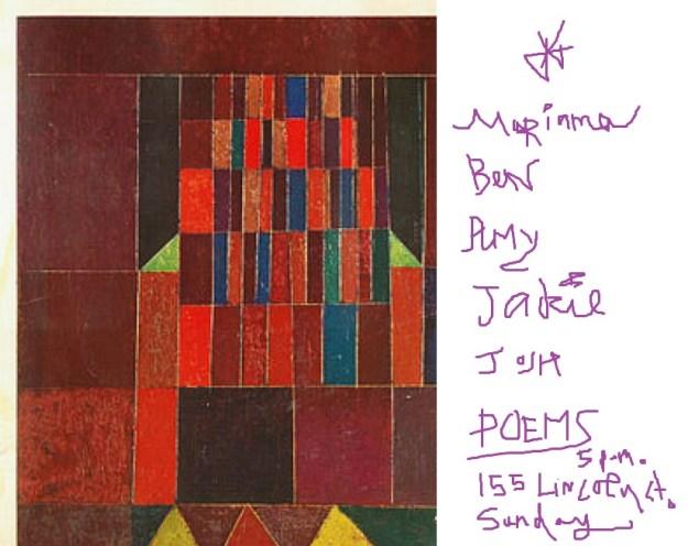 Paul Klee reading