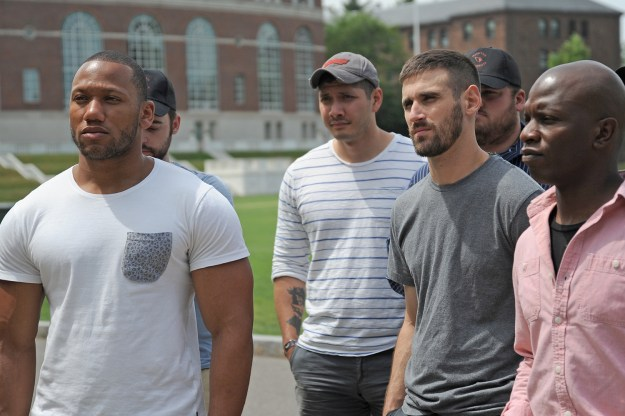 Posse scholars on a tour of campus last July. photo from the Wesleyan Newsletter Blog