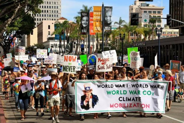 Climate Mobilization Rally in San Diego IRL!
