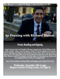 An Evening with Richard Blanco