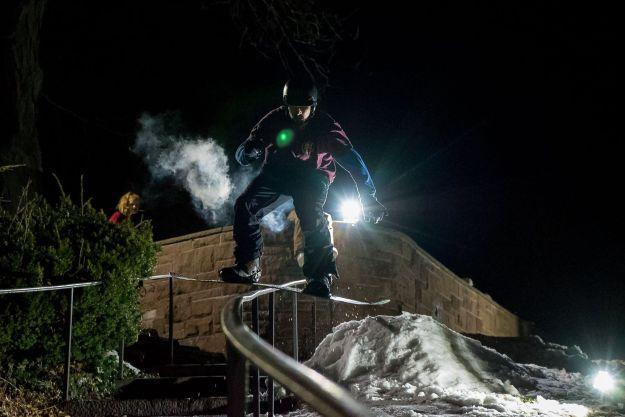 snowboard badass