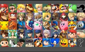 super smash characters lol