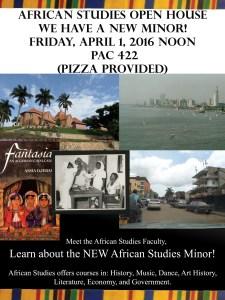african studies open house
