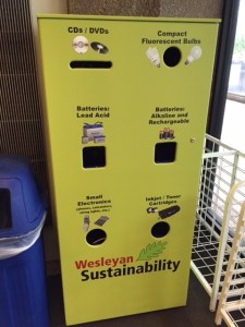recycling center wes sustainability