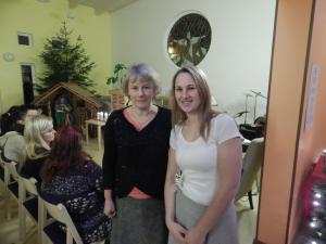 Siret Vaher and Tea Võro are two key volunteers in the success of the foodbanc program in Võru