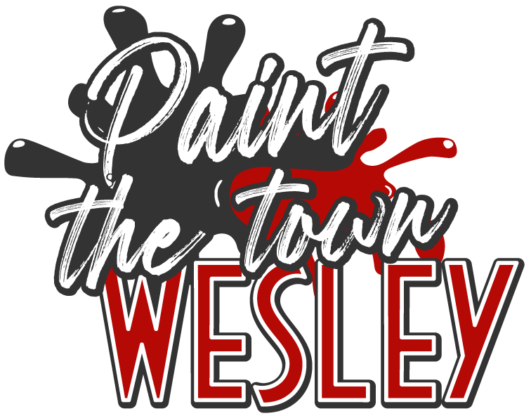 Paint the town Wesley logo