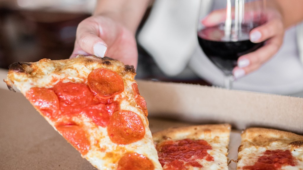 best wine with Domino's Pizza