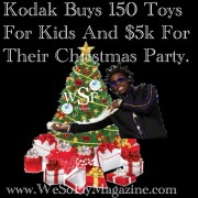 kodak black buys 150 toys for kids and donate $5k