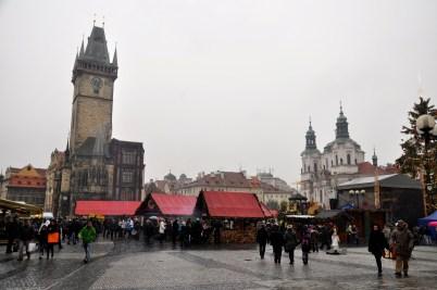 targi świąteczne w Pradze