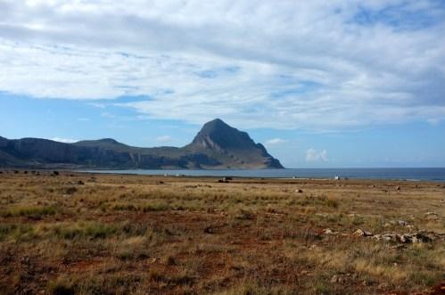 ta skała przypominała mi Le Morne Brabant na Mauritiusie