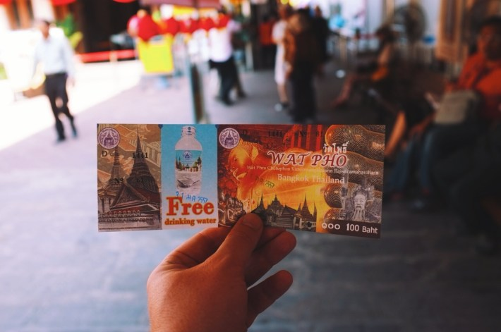 bilet do Wat Bo
