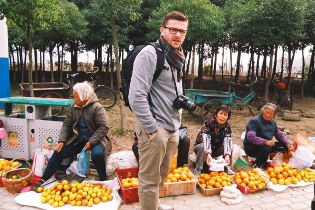 zapasy przed zwiedzaniem - czyli lokalne mandarynki