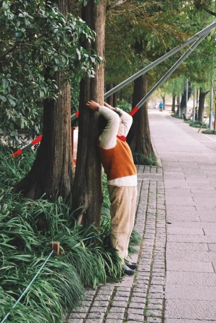 ćwiczenia nad Xi Hu