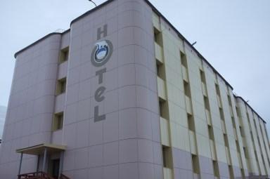 """""""pięciogwiazdkowy"""" hotel Barentsburg"""