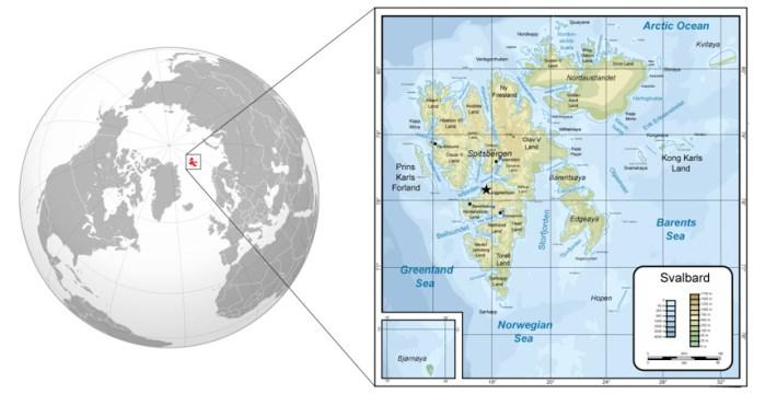 Svalbard na mapie świata