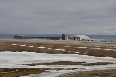 lotnisko w Longyearbyen