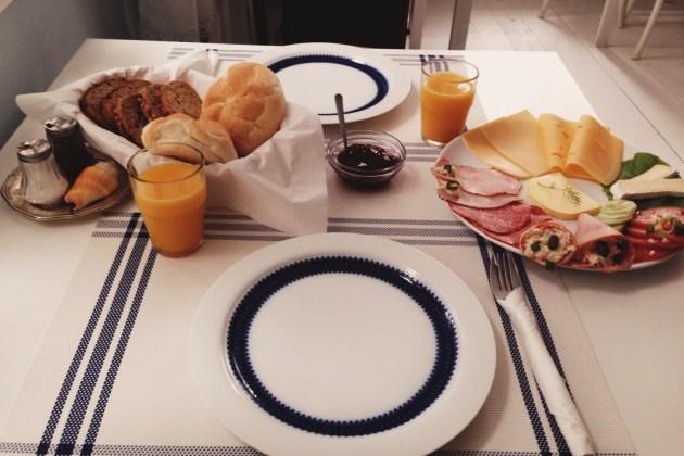 śniadanie w Willa Ludwinia