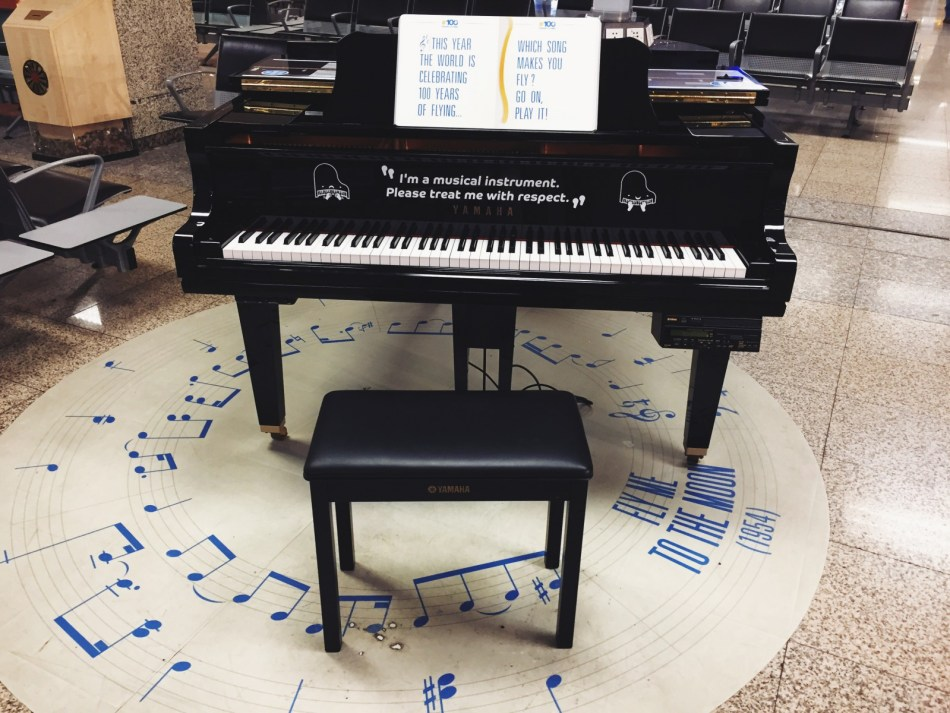 lotniskowe pianino