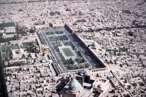 Zdjęcie placu Imama z połowy ubiegłego wieku | zdjęcie Magdalena Garbacz-Wesołowska
