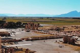 Persepolis widziane z góry