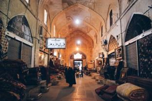 na bazarza w Sziraz