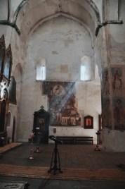 twierdza Ananuri, wnętrze kościoła Wniebowzięcia