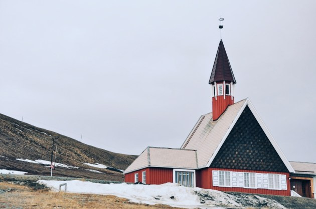 kościół w Longyearbyen