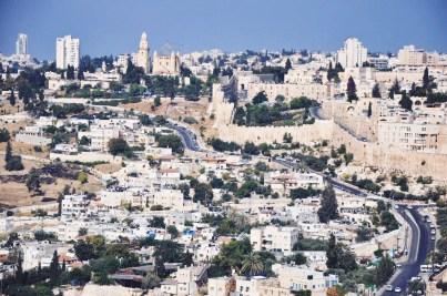 Jerozolima otoczona murami Sulejmana