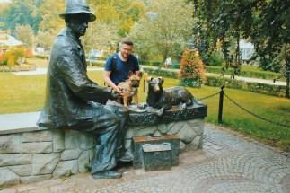 Pomnik Nikifora w Krynicy