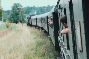 Retro pociąg Rabka-Zdrój Kasina Wielka