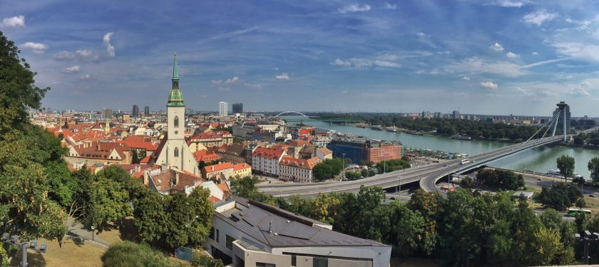Bratyslawa panorama