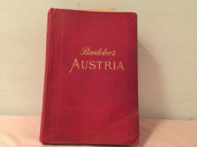Austria przewodnik Karl Baedeker