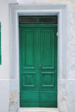 Malta kolorowe drzwi