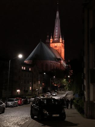 Szczecin noca