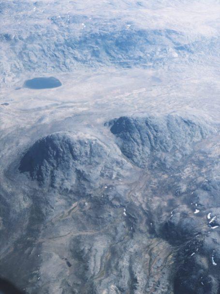 Lot nad Grenlandią