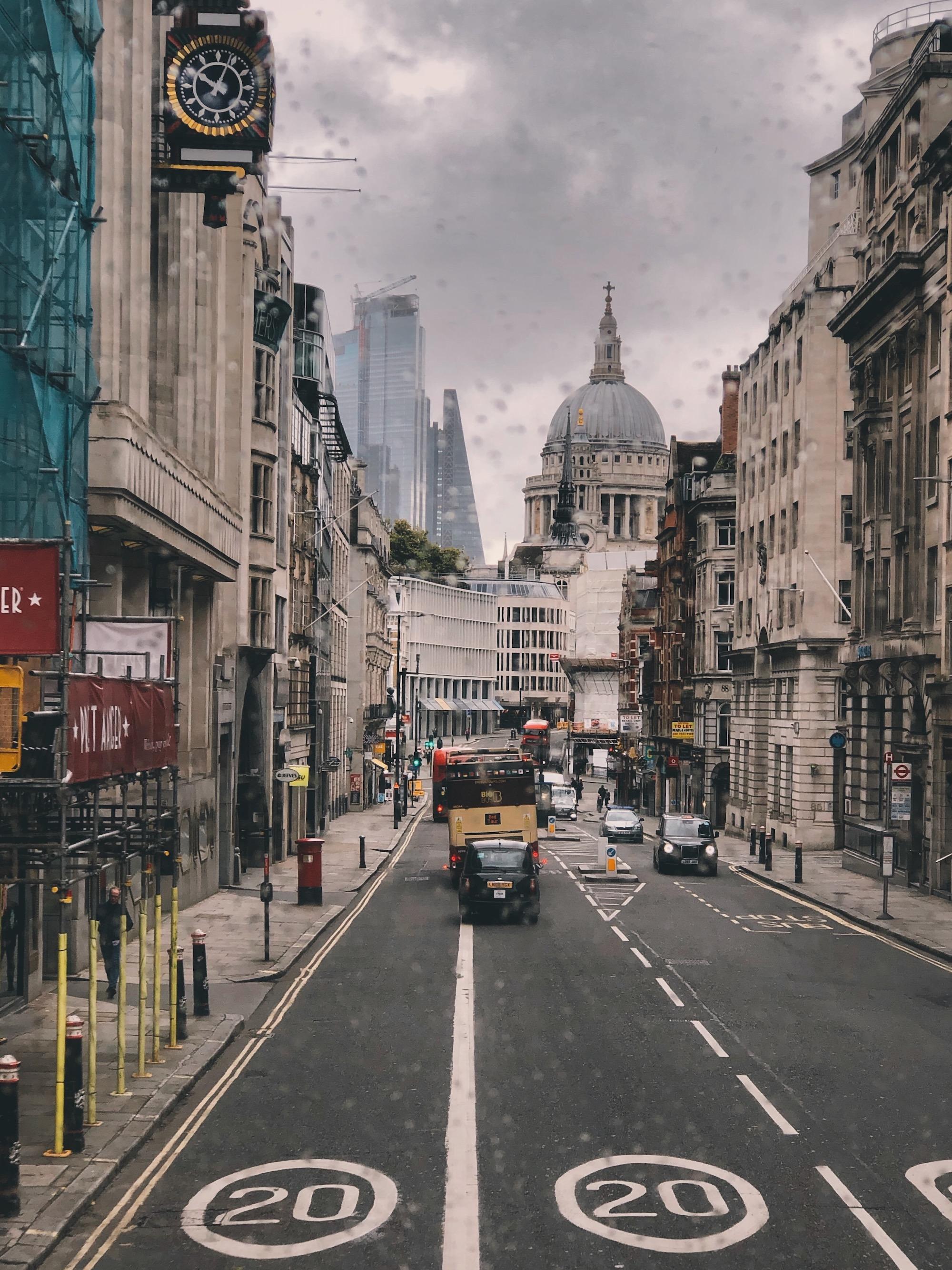 szybkie spotkanie z Londynem