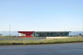 lotnisko (barak?) w Kutaisi?