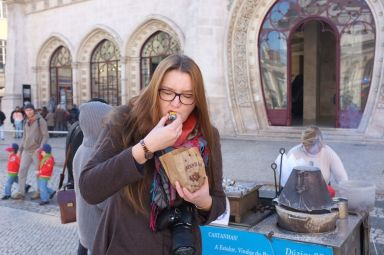 Madzia stwierdziła, że kasztany mają lepsze niż we Francji, czy we Włoszech