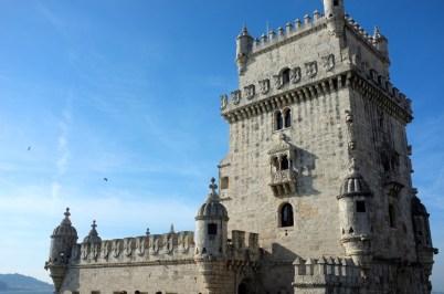 wieża Belem - stąd odpływały statki z portugalskimi odkrywcami
