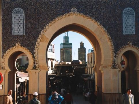 wejście do Mediny
