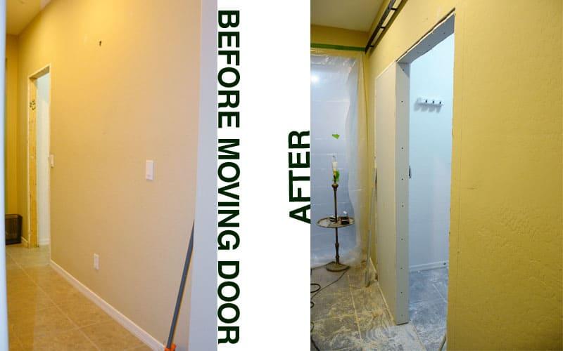 moving and widening the doorway of the pantry & YEP - WE\u0027VE GO TO WIDEN THE DOORWAY - We Speak DIY