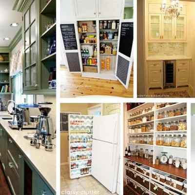 pictures of beautiful pantries
